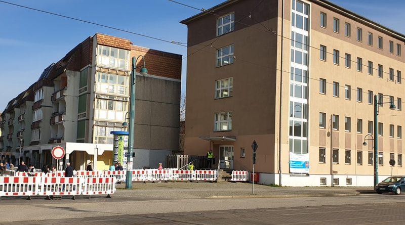 Zentrale COVID-19 Anlaufstelle am Karl-Ritter-Platz eingerichtet