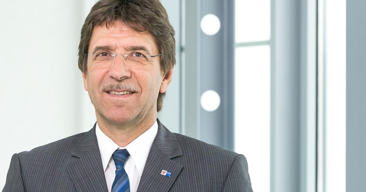 Gundolf Schülke, Hauptgeschäftsführer der IHK Ostbrandenburg