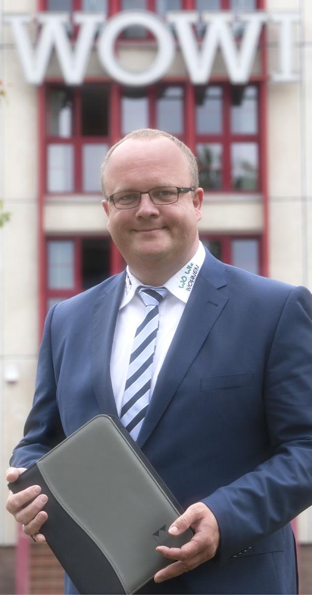 WOWI-Geschäftsführer Jan Eckardt