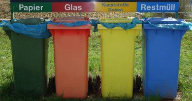Stadtverwaltung warnt: Corona-Müll gehört nicht in  Wertstoff-Tonnen