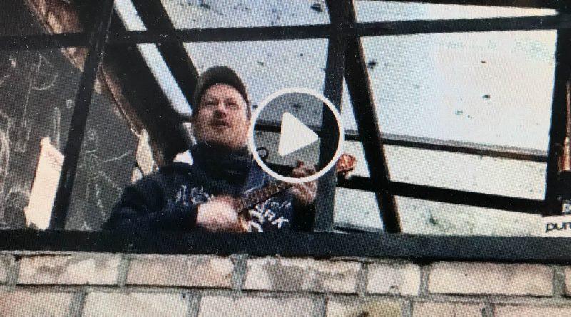 """Thomas Strauch mit """"Ode an die Freude"""""""