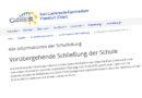 EIL: Karl-Liebknecht-Gymnasium in Frankfurt (Oder) für eine Woche geschlossen