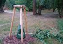 Perfide Zerstörung der Gleisenstein-Bäume im Kleistpark
