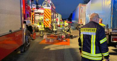 Tödlicher Verkehrsunfall auf der A12