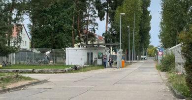 Flüchtlings-Erstaufnahme in Eisenhüttenstadt