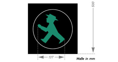 Kult-Figur feiert Geburtstag – 60 Jahre Ost-Ampelmännchen