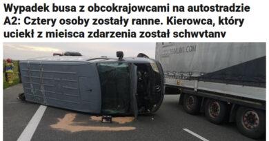 Kleintransporter mit Migranten verunglückt in Polen